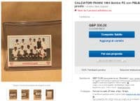 1964 Pele & Santos Panini rarity from Italy, partial AMR thin hence LOW price - on EB for 500!
